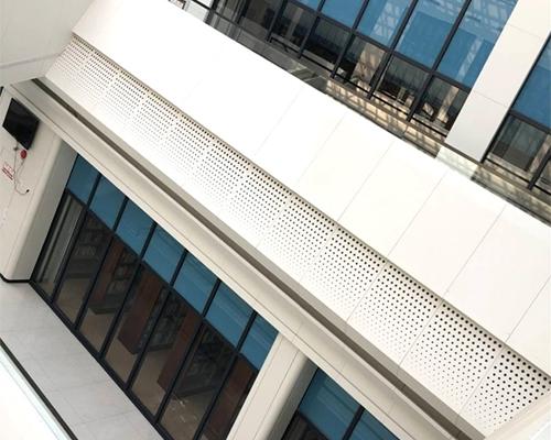 常州工学院氟碳穿孔铝