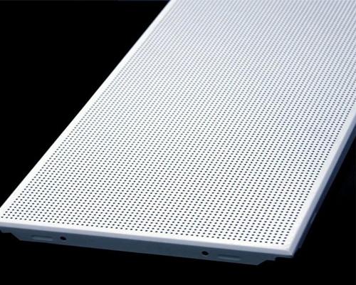 氟碳穿孔铝单板