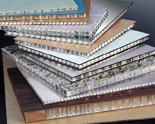 仿石木蜂窝铝单板