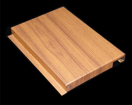 仿木纹铝单板安装